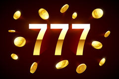 Lucky sevens Stock Image