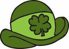 Lucky Shamrock Hat Stock Photos