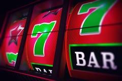 Lucky Slot Jackpot Spin Royaltyfria Bilder