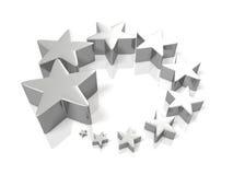 Lucky Star, der die Steigerung darstellt Lizenzfreie Stockfotos