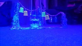Lucky Star ~ neon Blacklight dell'arcobaleno Fotografie Stock Libere da Diritti