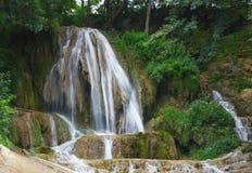 Lucky waterfall Stock Image