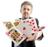 Lucky You, royal flush Stock Photography