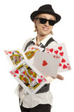 Lucky You, royal flush and Stock Photo