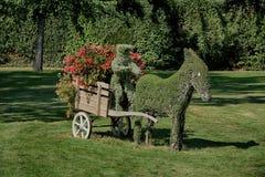 Lucon, Francia Jardin Dumaine, regione di Vendee, giardini pubblici fotografia stock