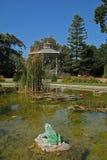 Lucon, Francia Jardin Dumaine, regione di Vendee, giardini pubblici fotografia stock libera da diritti