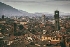 Lucques Toscane Photo stock
