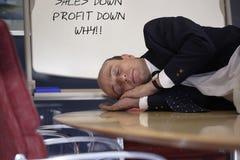 Lucra abaixo de porque? Fotografia de Stock Royalty Free