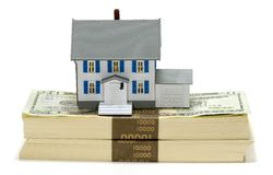 Lucro Home Imagem de Stock Royalty Free