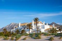 Lucxury Spaanse Villa's en Aprtments Royalty-vrije Stock Foto