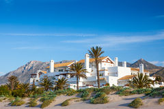 Luxury Spanish Villas and Apartments Royalty Free Stock Photo