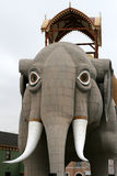 Lucy der Margate Elefant in Atlantic City lizenzfreie stockbilder