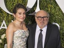 Lucy DeVito and Danny DeVito Stock Photos