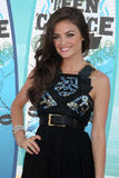 Lucy Hale. LOS ANGELES - AUGUST 8:  Lucy Hale arrivals at the 2010 Teen Choice Awards at Gibson Ampitheater at Universal  on August 8, 2010 in Los Angeles, CA Royalty Free Stock Images