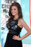 Lucy Hale. LOS ANGELES - AUGUST 8:  Lucy Hale arrivals at the 2010 Teen Choice Awards at Gibson Ampitheater at Universal  on August 8, 2010 in Los Angeles, CA Royalty Free Stock Photo