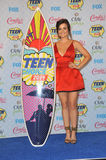 Lucy Hale. LOS ANGELES, CA - AUGUST 10, 2014: Lucy Hale at the 2014 Teen Choice Awards at the Shrine Auditorium Stock Photography