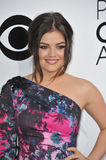 Lucy Hale. LOS ANGELES, CA - JANUARY 8, 2014: Lucy Hale at the 2014 People's Choice Awards at the Nokia Theatre, LA Live Royalty Free Stock Photo