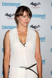 Lucy Lawless. LOS ANGELES - JUL 23:  Lucy Lawless arriving at the EW Comic-con Party 2011 at EW Comic-con Party 2011 on July 23, 2011 in Los Angeles, CA Stock Image