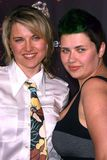 Lucy Lawless. And Daisy Lawless at the Los Angeles Premiere of 30 Days Of Night. Grauman's Chinese Theatre, Hollywood, CA. 10-16-07 Stock Image