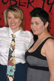 Lucy Lawless. & daughter Daisy Lawless at the premiere of 30 Days of Night at the Grauman's Chinese Theatre, Hollywood, CA. October 17, 2007  Los Angeles, CA Stock Images