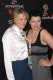 Lucy Lawless. & daughter Daisy Lawless at the premiere of 30 Days of Night at the Grauman's Chinese Theatre, Hollywood, CA. October 17, 2007  Los Angeles, CA Royalty Free Stock Photography