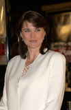 Lucy Lawless. Actress LUCY LAWLESS at the world premiere, in Los Angeles, of Spy Game. 19NOV2001.  Paul Smith/Featureflash Royalty Free Stock Images
