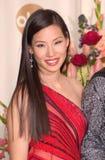 Lucy Liu imagem de stock