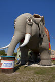 Lucy o elefante fotos de stock