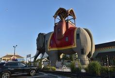 Lucy o elefante de Margate imagens de stock royalty free