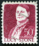 Lucy Stone US Postage Stamp Royalty Free Stock Photo