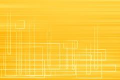 Luddig orange bakgrundslutning royaltyfri illustrationer