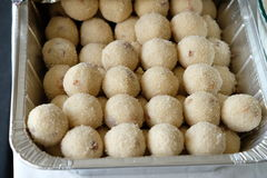Luddu sweet. Yummy luddu Indian sweet for your savor Stock Images