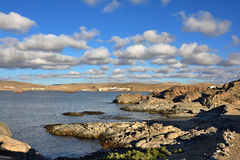 The Luderitz bay, Namibia Royalty Free Stock Images