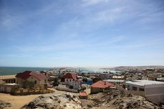Luderitz harbour Royalty Free Stock Photography