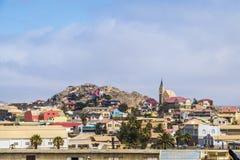 Luderitz miasteczko Namibia zdjęcie stock