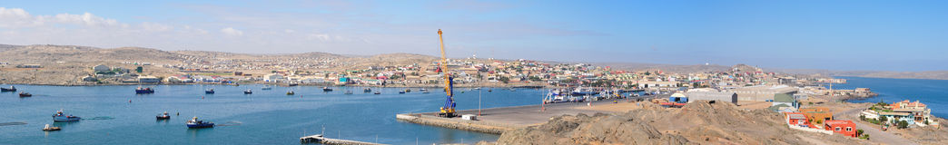 Luderitz panorama Royalty Free Stock Photos