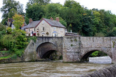 Ludford Bridge Royalty Free Stock Photography