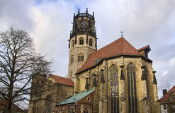 Ludgeri Church in Munster, Germany Royalty Free Stock Photos