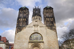 Ludgeri Church in Munster, Germany Royalty Free Stock Photo