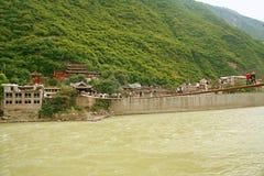 Luding-Brücke in Sichuan Stockbilder