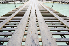Luding Chain Bridge Royalty Free Stock Images