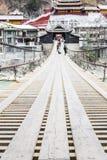 Luding Chain bro Royaltyfri Fotografi