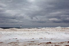 Ludington latarnia morska Obraz Royalty Free