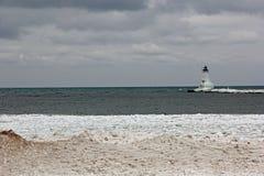 Ludington-Leuchtturm lizenzfreie stockfotografie