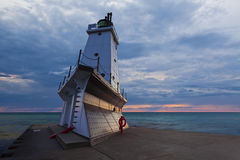 Ludington Lighthouse. royalty free stock photography