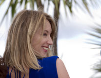 Ludivine Sagnier. CANNES, FRANCE - MAY 16: Ludivine Sagnier attends the Jury 'Un Certain Regard' Photocall during the 66th Cannes Film Festival at the Palais des Royalty Free Stock Photography