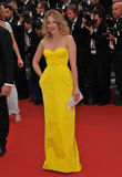 Ludivine Sagnier. CANNES, FRANCE - MAY 16, 2013: Ludivine Sagnier at the gala premiere of Young Royalty Free Stock Images