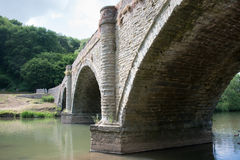Ludlow Bridge. Bridge over river Teme at Ludlow UK Royalty Free Stock Photos