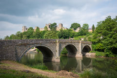 Ludlow Bridge Royalty Free Stock Photos