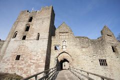Ludlow Castle Royalty Free Stock Photos